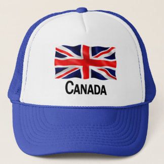 Canada Union Jack - Blue Trucker Hat