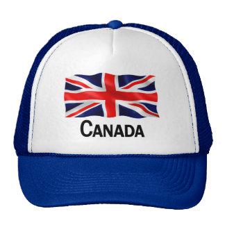 Canadá Union Jack - gorra azul del camionero