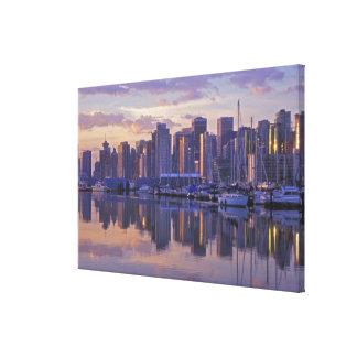 Canada, Vancouver, British Columbia. Vancouver Canvas Print