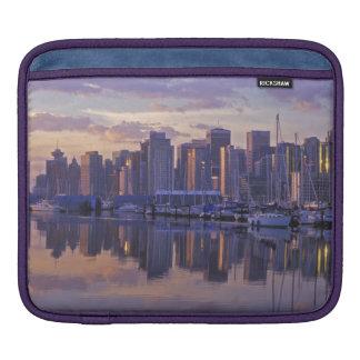 Canada, Vancouver, British Columbia. Vancouver iPad Sleeve
