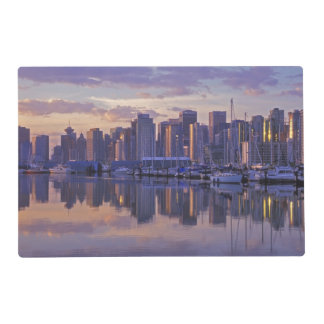 Canada, Vancouver, British Columbia. Vancouver Laminated Place Mat