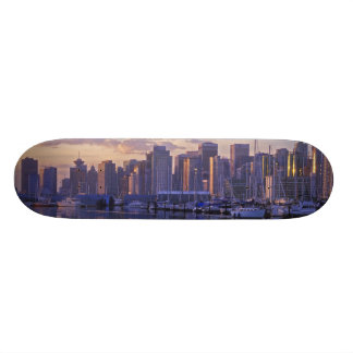 Canada, Vancouver, British Columbia. Vancouver Skateboard Deck