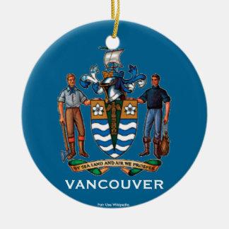 Canada - Vancouver Christmas Ornament