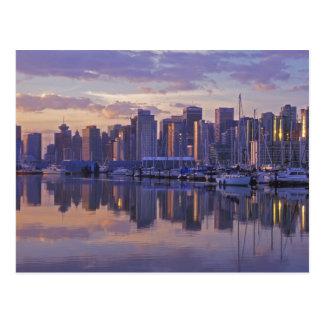 Canadá, Vancouver, Columbia Británica. Vancouver Tarjeta Postal