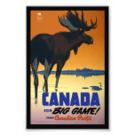 Canada Vintage Travel Poster Photo Print