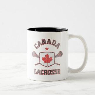 Canada-Vintage Two-Tone Coffee Mug
