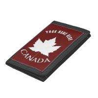 Canada Wallet Canada Souvenir Maple Leaf Wallet