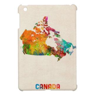 Canada Watercolor Map Case For The iPad Mini
