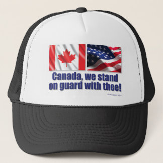 Canada, we stand on guard with thee! trucker hat