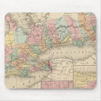 Canada West Upper Mouse Pad