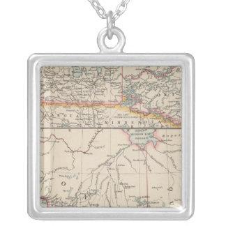 Canada Western Square Pendant Necklace