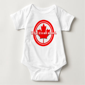 Canada What It's All Aboot Baby Bodysuit