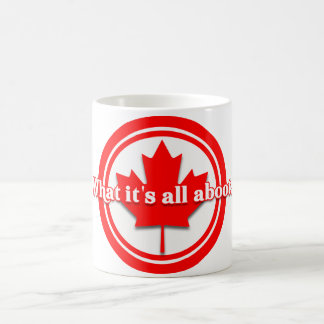 Canada What It's All Aboot Coffee Mug
