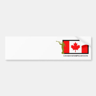 CANADA WINNIPEG MISSION LDS CTR BUMPER STICKER