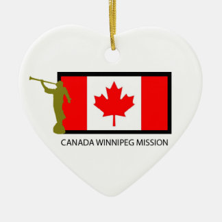 CANADA WINNIPEG MISSION LDS CTR CERAMIC ORNAMENT