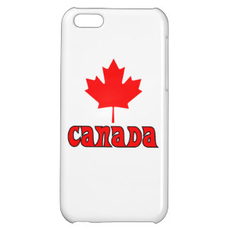 CANADA with red Maple Leaf Cover For iPhone 5C