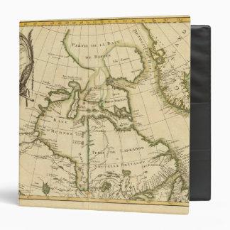 """Canadá y Groenlandia Carpeta 1 1/2"""""""