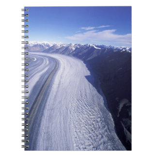 Canada, Yukon Territory, Kluane National Park. Spiral Notebook
