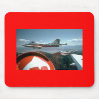 Canadadian Snowbirds Ridealong Mouse Pad