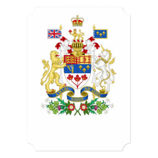 Canada's 150th Anniversary Coat of Arms Card