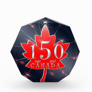 Canada's 150th Maple Leaf & Fireworks Celebration Award