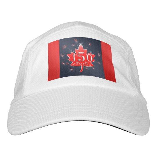 e5df3ae6cd2 Canada s 150th Maple Leaf   Fireworks Celebration Headsweats Hat ...