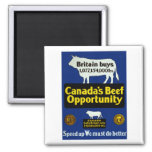 Canada's Beef Opportunity Fridge Magnet