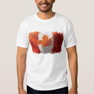 Canada's flag Men's Basic T-Shirt