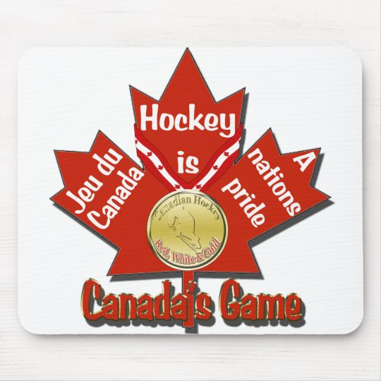 Canadas Game Mouse Pad