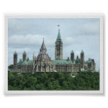 Canada's Parliament Buildings Poster