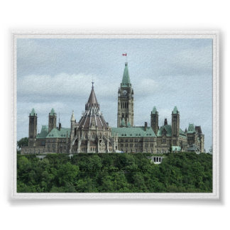 Canada's Parliament Buildings Posters