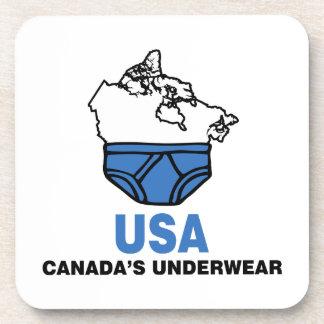 Canada's Underwear Drink Coaster