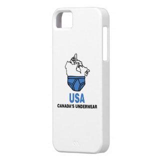 Canada's Underwear iPhone SE/5/5s Case