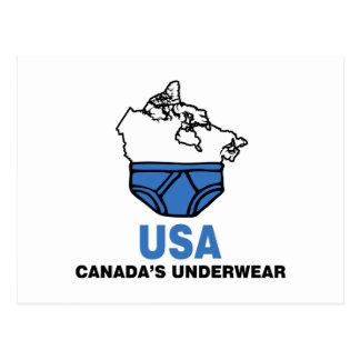 Canada's Underwear Post Cards
