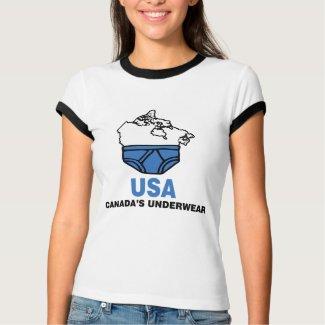 Canada's Underwear shirt