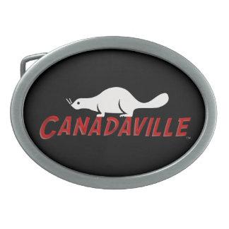 Canadaville Beaver Belt Buckle