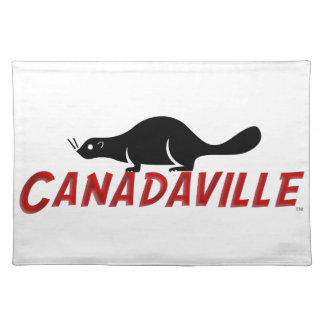 Canadaville Beaver Cloth Placemat