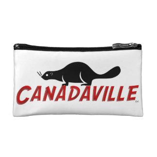 Canadaville Beaver Makeup Bag