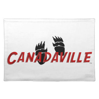 Canadaville Tracks Cloth Placemat
