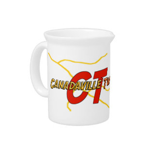 Canadaville Two Drink Pitcher