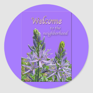 Canadensis Lily Welcome to Neighborhood Stickers