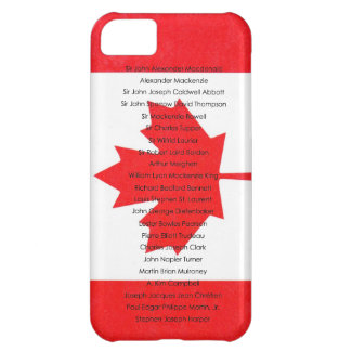 Canadian All Prime Ministers Name iPhone Case