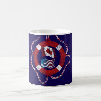 Canadian-American nautical design Coffee Mug