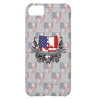 Canadian-American Shield Flag iPhone 5C Cover