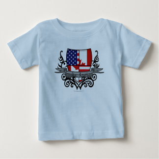 Canadian-American Shield Flag Shirts