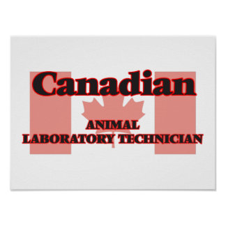 Canadian Animal Laboratory Technician Poster