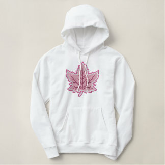 Canadian Anniversary Embroidery Canada Embroidered Hoodie