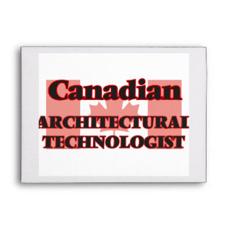 Canadian Architectural Technologist Envelope