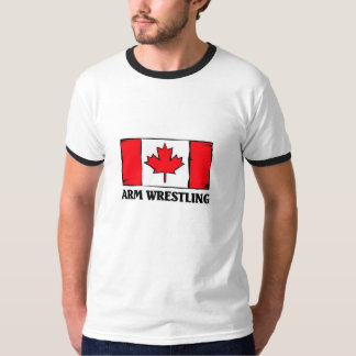 Canadian Arm Wrestling T-Shirt