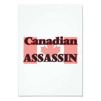 Canadian Assassin 3.5x5 Paper Invitation Card